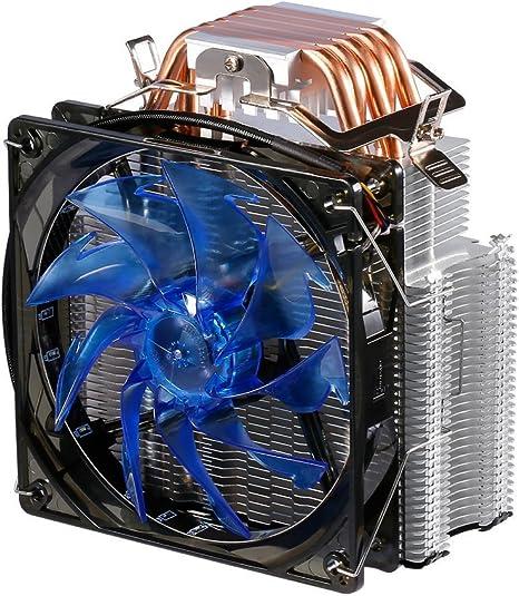 leshp F5 – Procesador enfriador con 90 mm PWM Ventilador – CPU ...