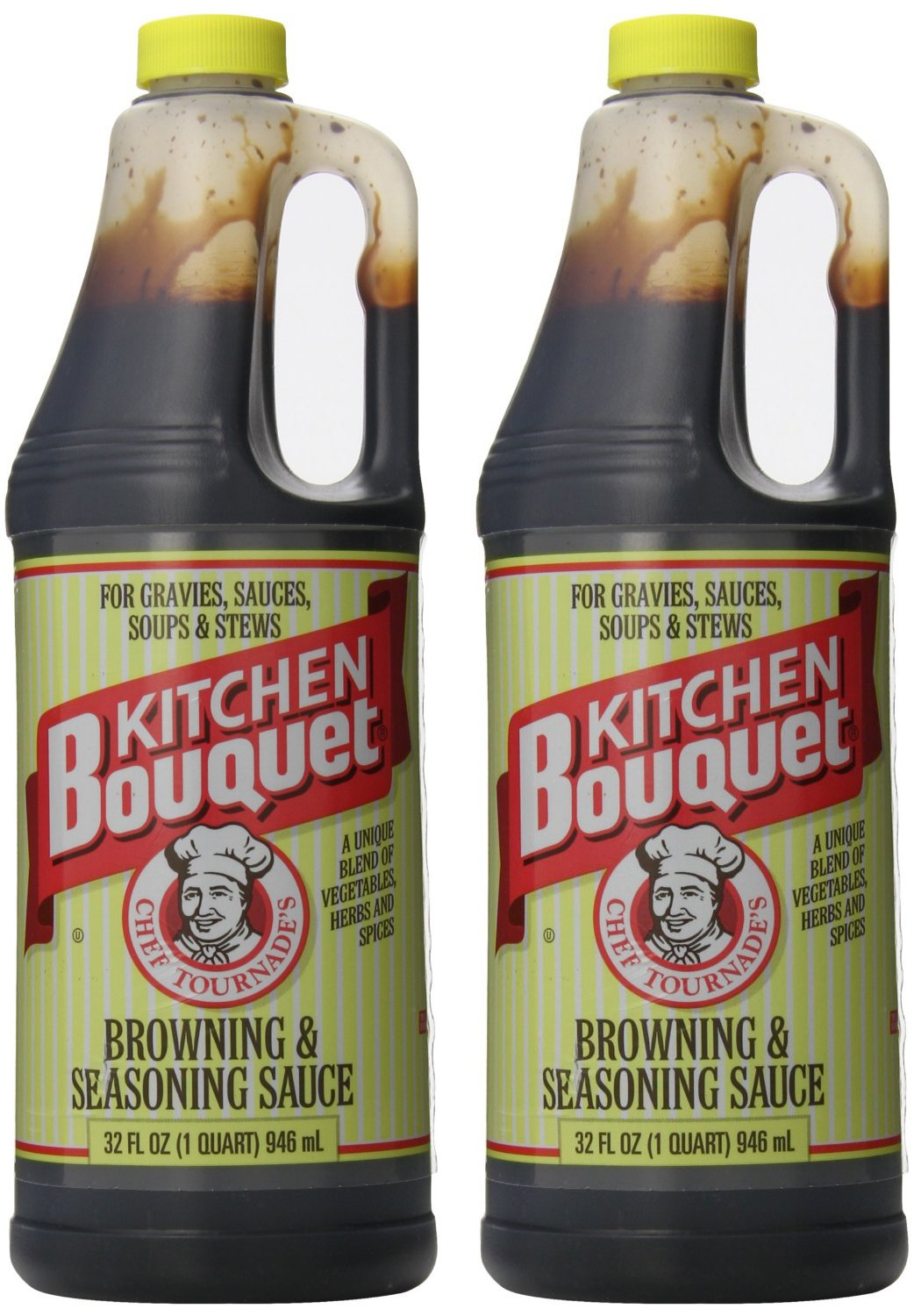 Kitchen Bouquet Browning and Seasoning Sauce, 32 Ounce (Pack of 2)