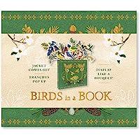 Birds In A Book. A Bouquet In A