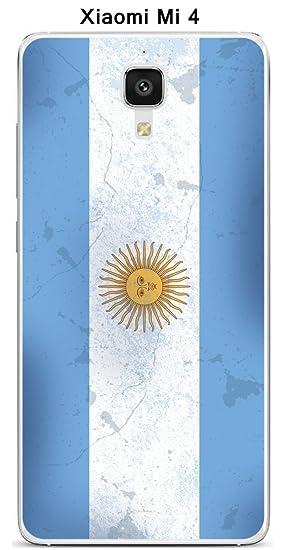 Onozo Carcasa Bandera Argentina Vintage para Xiaomi Mi 4 ...