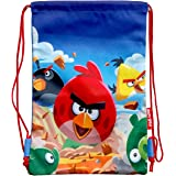 Red Rovio Angry Birds Space Licensed String Sling Tote Bag Backpack