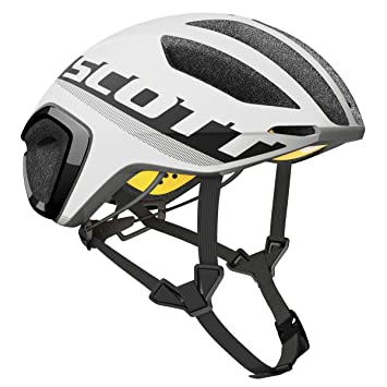Scott bici Casco cadence plus (ce) white/black l