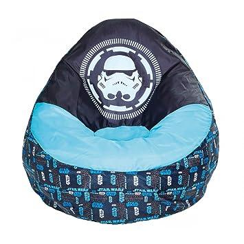 Sitzsack aufblasbar Kinder Star Wars Blau: Amazon.de: Küche & Haushalt