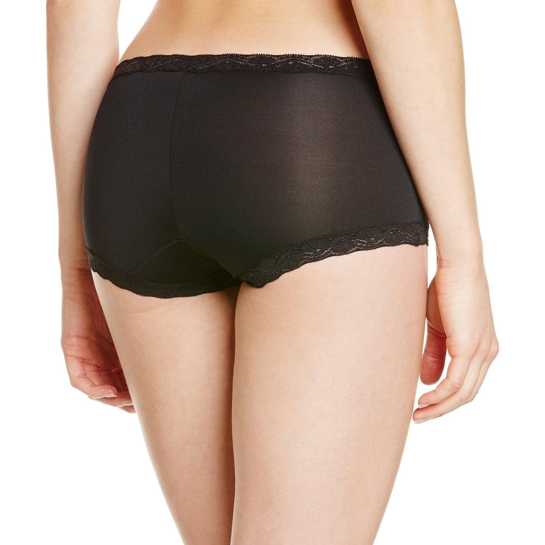 b1ac077f2bf1 Maidenform Women's Microfiber with Lace Boyshort Panty at Amazon Women's  Clothing store: Boy Shorts Panties