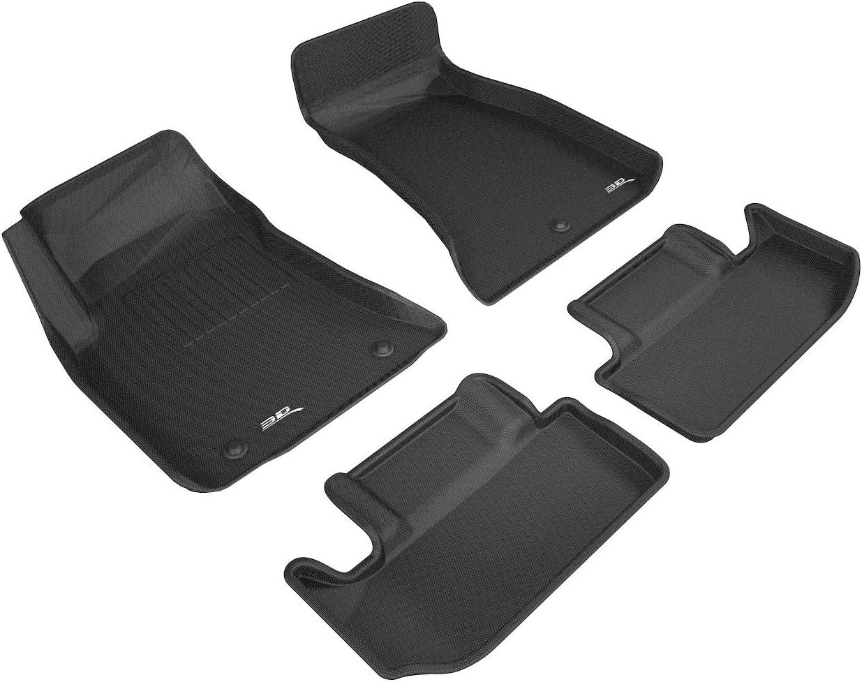 Custom Molded Floor Liners 3 Colors Digitial Fit 1st Row 2 Mats 3D MAXpider KAGU