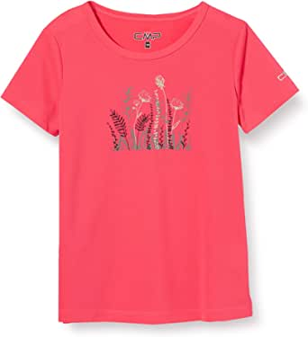 CMP Breathable Outdoor T-Shirt with Antibacterial Treatment Camiseta Chica