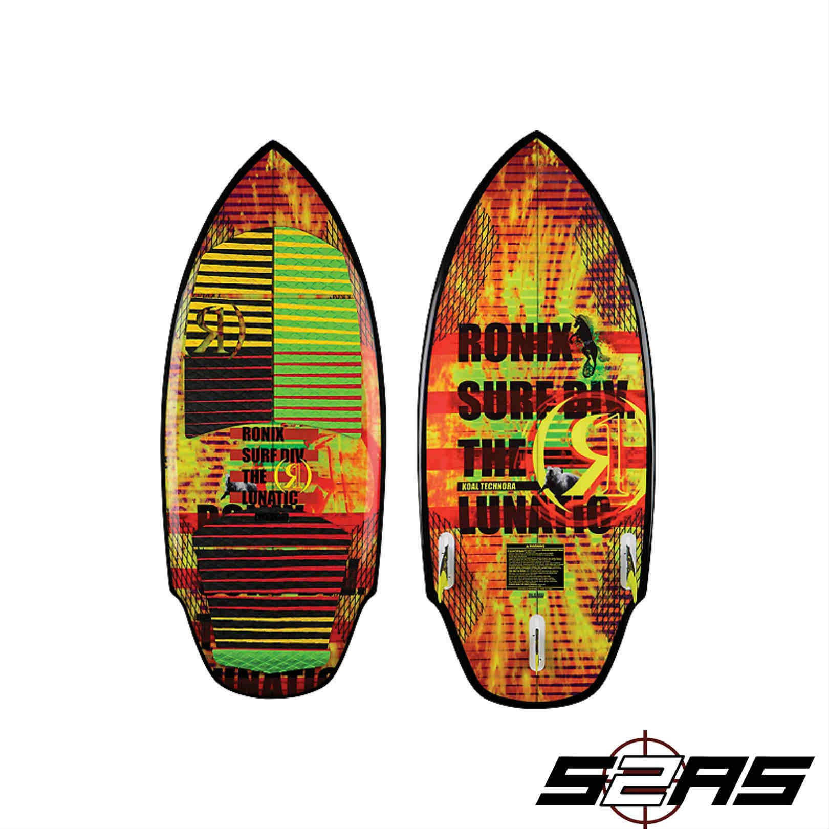Ronix Koal The Lunatic Wakesurfer - 4ft8in by Ronix