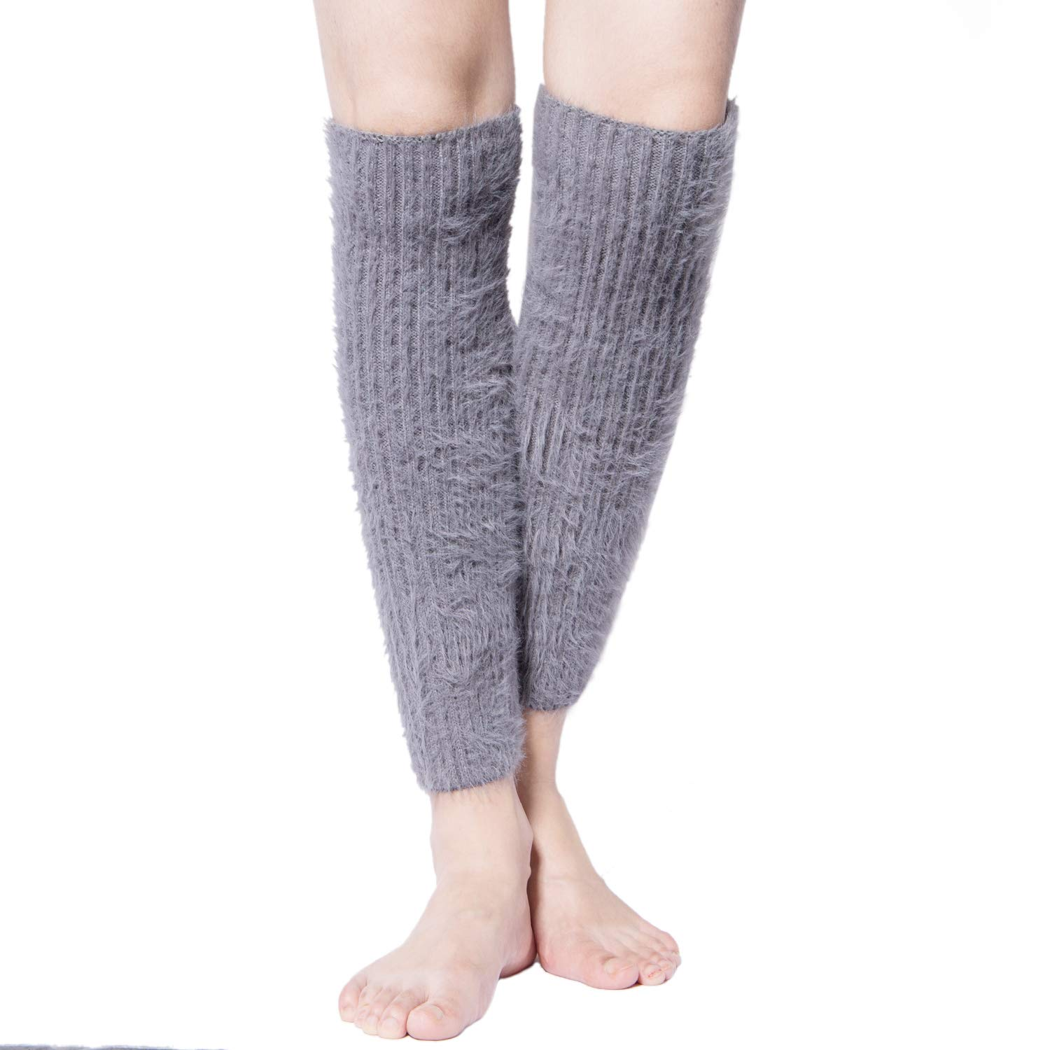 1e88278a2 Womens Winter Warm Cable Knit Leg Warmers Crochet Knitted Long Boot Cuffs  Socks at Amazon Women s Clothing store