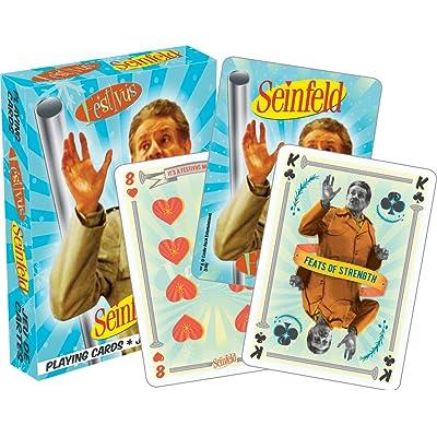 Aquarius Seinfeld Festivus Playing Cards: Aquarius: Toys & Games