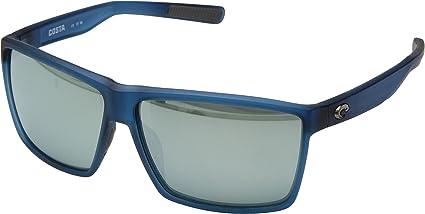 1786b45e54 Costa Del Mar Costa Del Mar RIN177OSGGLP Rincon Gray Silver Mirror 580G  Matte Atlantic Blue Frame