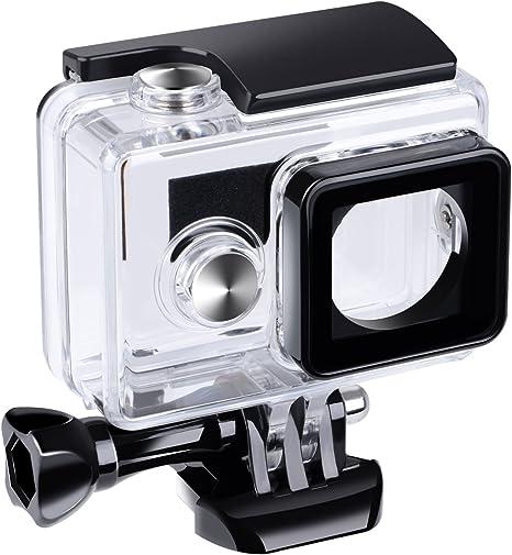 Suptig Estuche estanco al Agua y Carcasa Protectora Impermeable para cámara de acción Yi Xiaoyi Yi cámara de acción Xiaomi Yi cámara de acción: Amazon.es: Electrónica