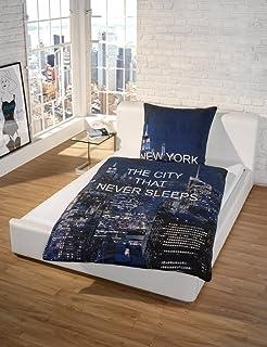fotodruck bettw sche new york conferentieproeftuinen. Black Bedroom Furniture Sets. Home Design Ideas