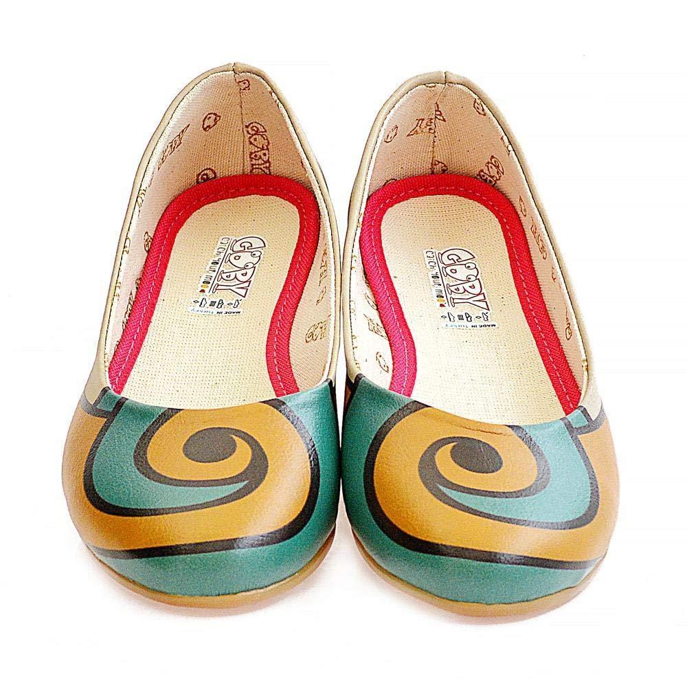 Spiral Ballerinas Shoes 2001