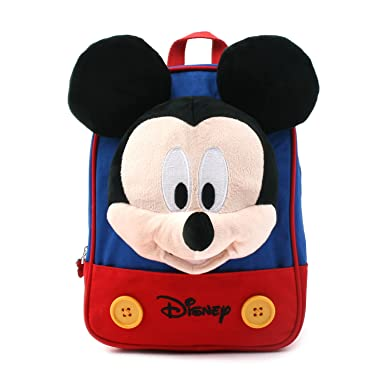 1dc92e49d457 Disney Mickey Minnie Mouse Finger Backpack with a Removable Strap Safety  Harness to Prevent Children from