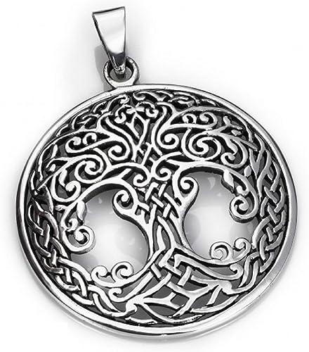 925 plata colgante celtas árbol joyas colgante plata 925