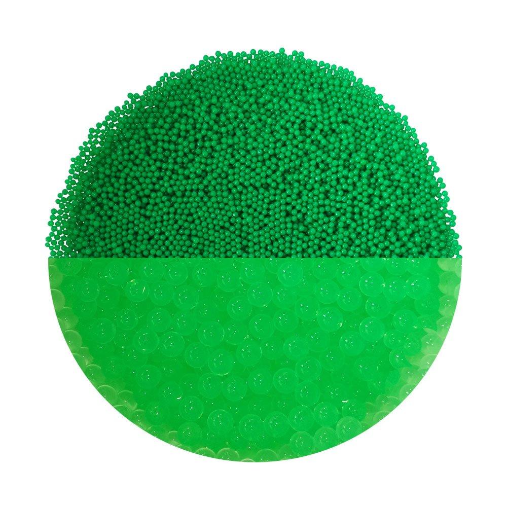 trendfinding Granulé s pour Fleurs artificielles en hydroperles Hydro Perles d'eau Aquaperle, Noir, 1-2 mm
