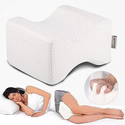 Cuscino per Ginocchia Dormire Cuscino Gambe Circolazione Allevia Lo Stress per Collo Schiena Ginocchia Gambe Piedi Morbido E Confortevole
