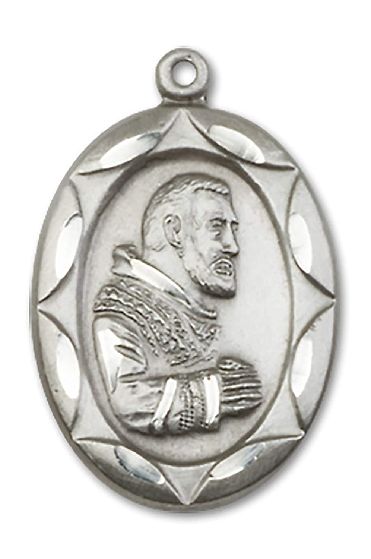 Sterling Silver Patron Saint Medal