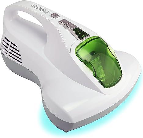SILVANO Aspirador de Camas. Aspirador higienizador de colchones, Almohadas, sofás y Cortinas con Doble luz UV-A y Filtro HEPA Multicapa: Amazon.es: Hogar