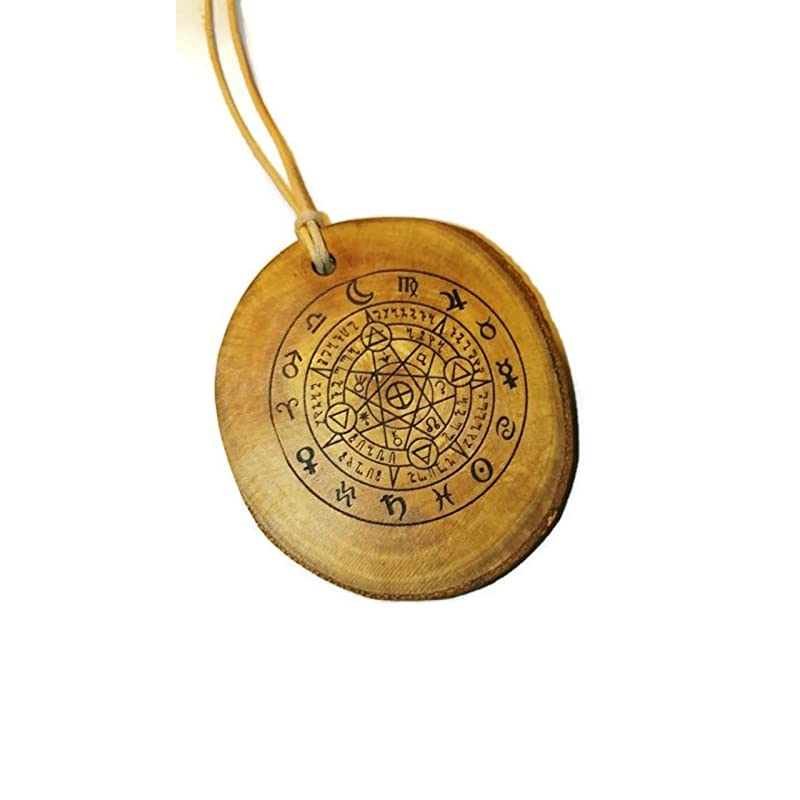 Wiccan Symbol Of Protection Necklace From Evil Spirits And Demons