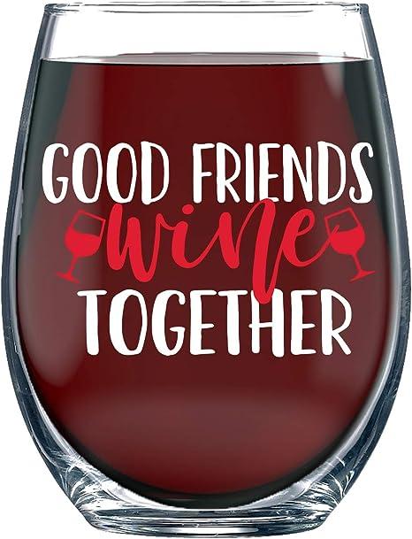 Girlfriend Friendship Boyfriend Family Affordable Novelty Wine Tumbler Birthday Sarcasm Retirement GIFT FOR Wine Lovers Anniversary