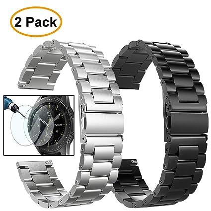 Amazon.com: VALKIT - Correa de reloj de acero inoxidable ...