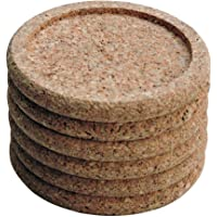 HealthGoodsAU - Thick Cork Coasters for Home, Office, Restaurant and Bar Use | Lightweight and Highly Absorbent | Set of…