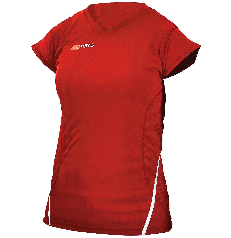 Grays Womens G650 V Neck Hockey Shirt - 5 Colours/UK Sizes 6-16