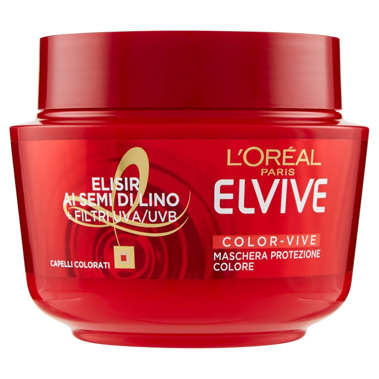 Elvive L Oréal Paris Elvive Maschera Ricostituente per Capelli Sciupati Total  Repair 5 a9520d1ffc22