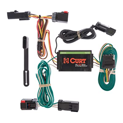 CURT 55530 Vehicle-Side Custom 4-Pin Trailer Wiring Harness for Select Chrysler Pacifica: Automotive
