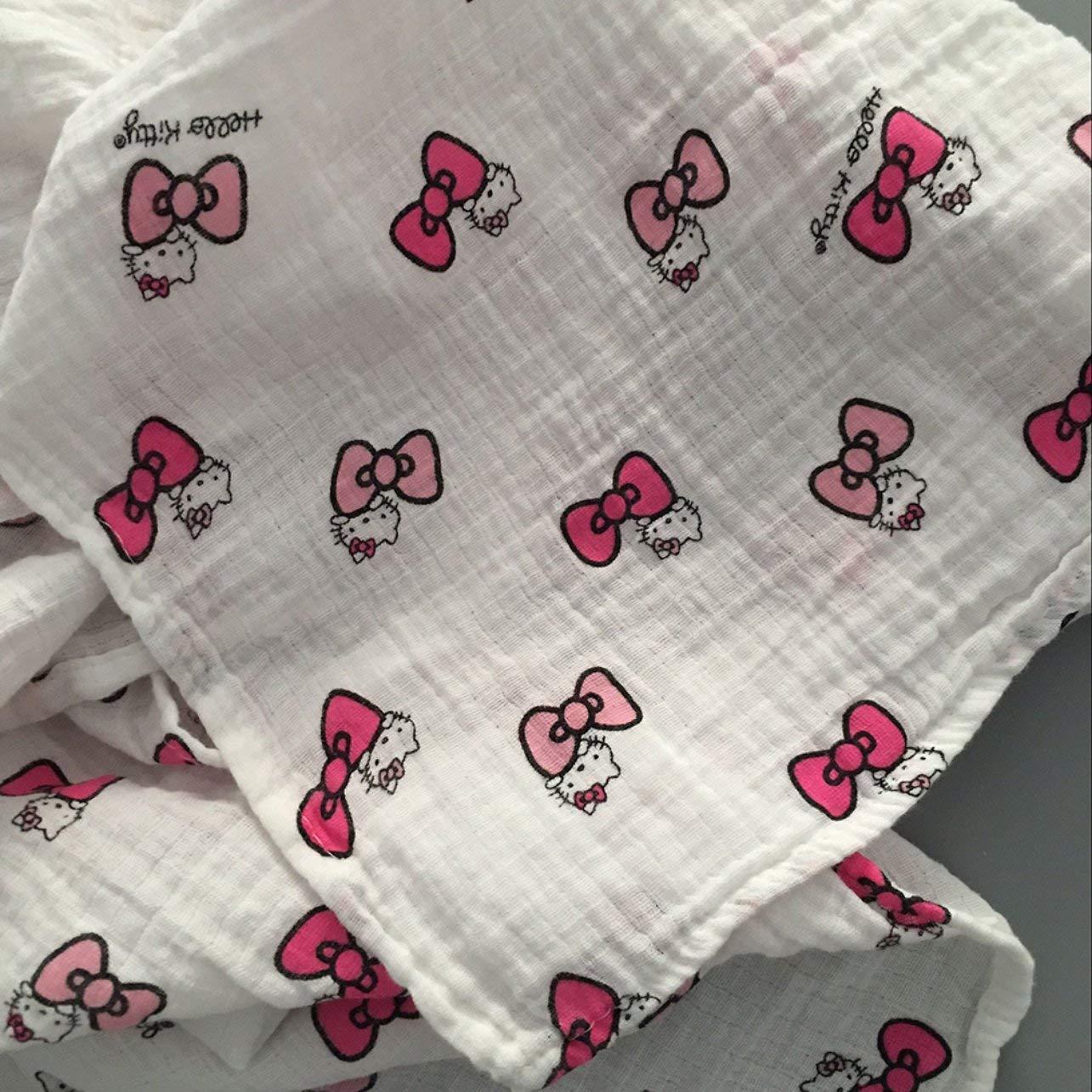 120x120cm mousseline couverture b/éb/é langes coton 100/% nouveau-n/é b/éb/é serviette de bain Swaddle couvertures Multi Designs Fonctions