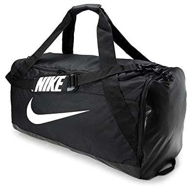 2f91d75c091d2c Amazon.com | Nike Brasilia Extra Large Duffel Bag Black/Black/White ...