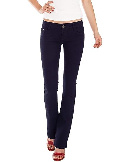 Pantalon Fraternel Jeans Femme Bootcut Taille Basse gR7RFn8