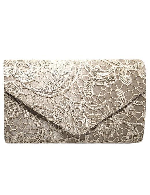 Amazon.com: shininglove de la mujer elegante encaje Crochet ...