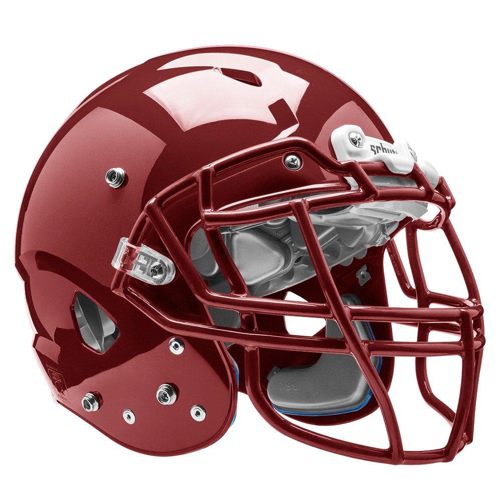 Schutt Sports Vengeance VTD II Football Helmet Without Faceguard, Cardinal, Small