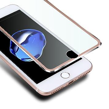 b91ea6b8763 VIUME iPhone 7 Plus / 8 Plus Protector de Pantalla, 3D Cristal Templado  para iPhone 7 Plus/iPhone 8 Plus Cobertura Completa Cristal Vidrio Templado  Premium: ...