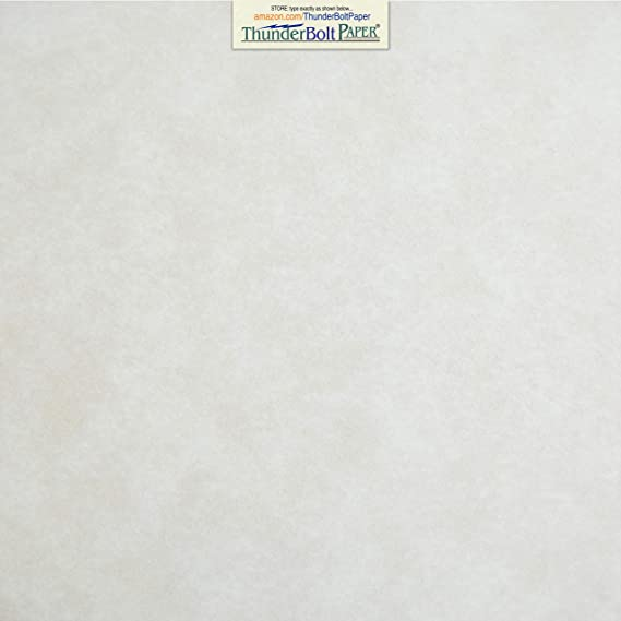Scrapbook Album|Cover Size 25 White Parchment 65lb Cover Weight Paper 12 X 12 Printable Old Parchment Semblance 12X12 Inches
