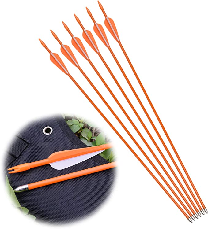 Best Archery Arrows: NIKA ARCHERY 24 26 28 30 Fiberglass Arrows