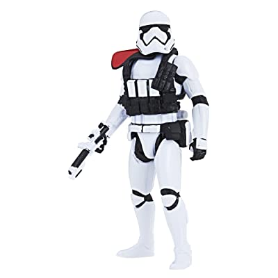 Star Wars First Order Stormtrooper Office - Force Link 2.0 Action Figure: Toys & Games