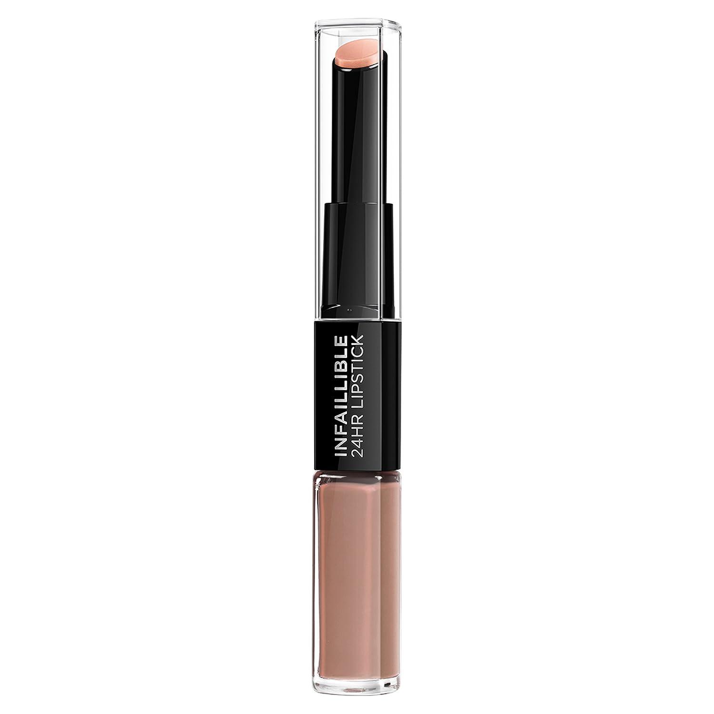 L'Oréal Paris Infaillible 24H Rossetto Lunga Tenuta, 113 Invincible Sable 3600522336921