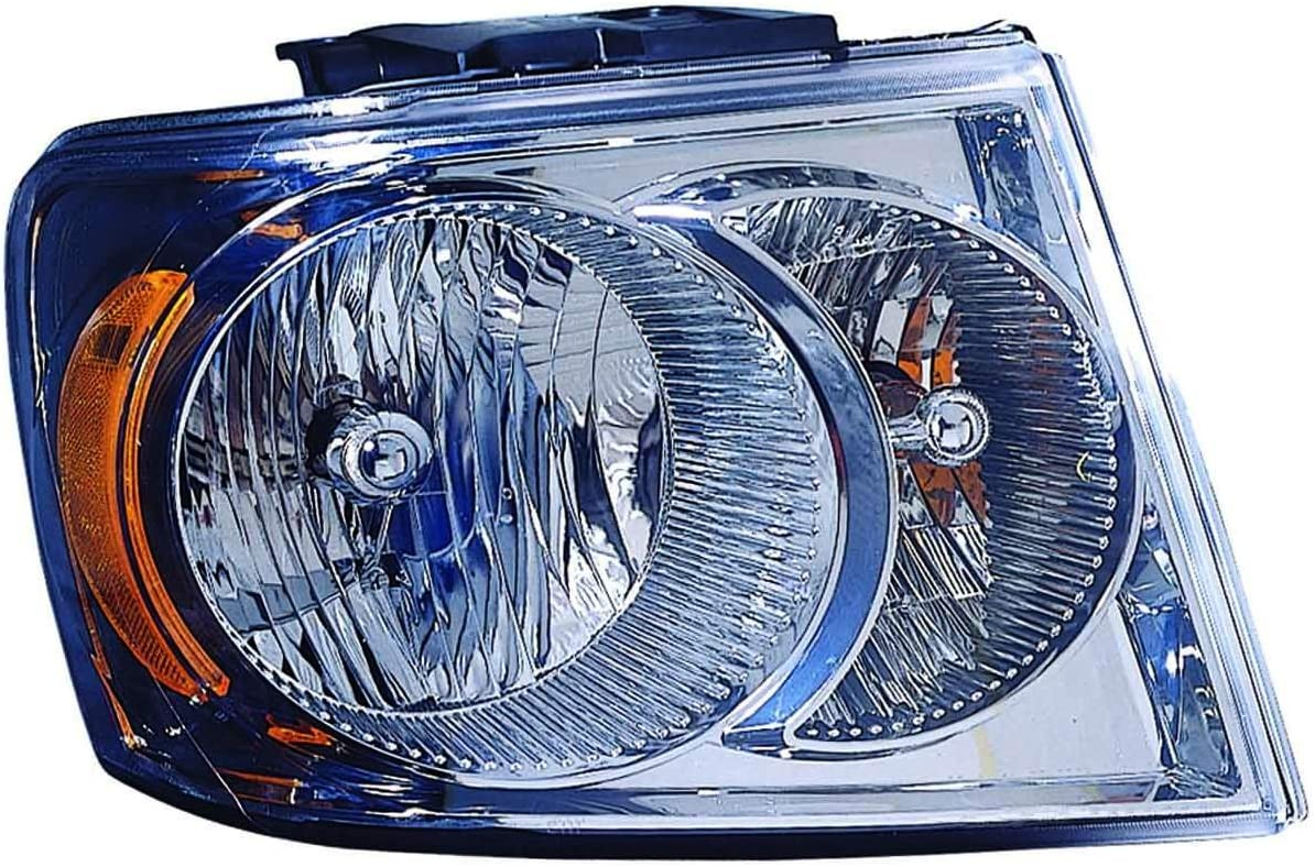 DEPO 334-1120R-AS Replacement Passenger NEW Lens Hous New color Side Headlight