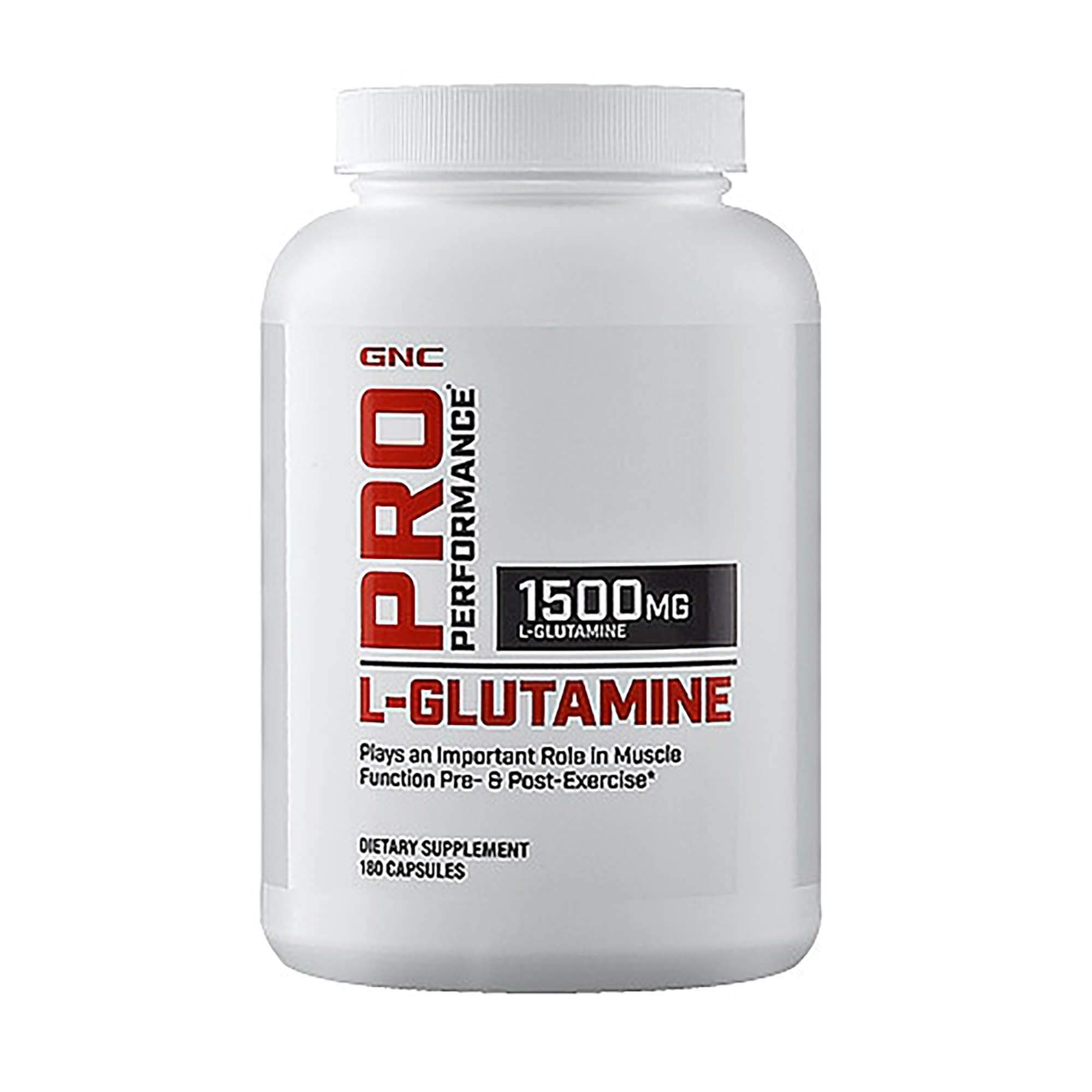 GNC Pro Performance LGlutamine 180 caps by GNC