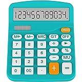 Calculator, Helect Standard Function Desktop Calculator (Blue) - H1001B