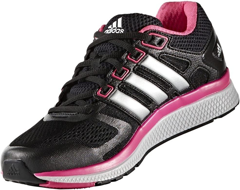 Adidas PerformanceNOVA Bounce - Zapatillas Neutras - Core Black/Metallic Silver/Shocking Pink: Amazon.es: Zapatos y complementos