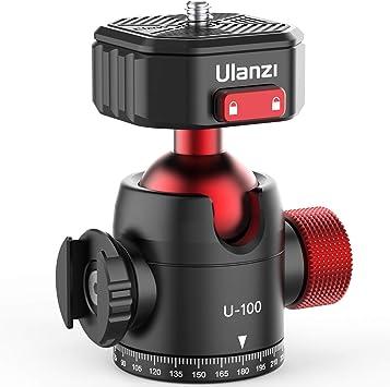 Ulanzi Claw U 100 Kugelkopf Stativkopf Mit Kamera