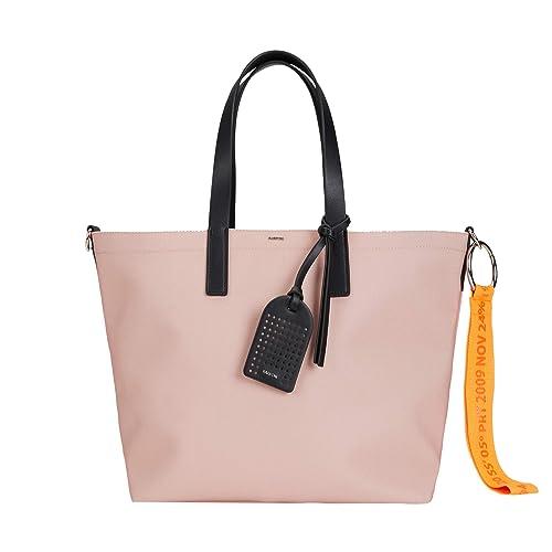 Bolso Shopper Vinilo Con Bolsas Mujeres Parfois