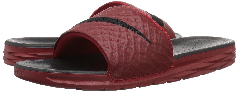 huge discount e3976 885d1 Nike New Men's Benassi Solarsoft Slide Red/Black 705474 600 size 16:  Amazon.ca: Shoes & Handbags