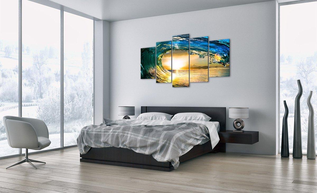 Bild auf Glas - Glasbilder - fünf Teile - - - Breite  150cm, Höhe  100cm - Bildnummer 2779 - fünfteilig - mehrteilig - zum Aufhängen bereit - Bilder - Kunstdruck - GEA150x100-2779 6186d4