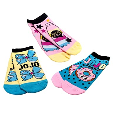 c8026c17d Amazon.com  Jojo Siwa Nickelodeon Cute   Comfortable Ankle Socks ...