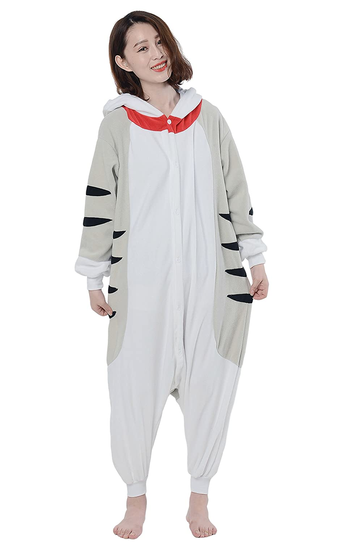 Fandecie Pijama Gato, Onesie Modelo Animales para adulto entre 1,60 y 1,75 m Kugurumi Unisex.: Amazon.es: Ropa y accesorios